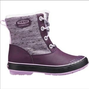 Keen Elsa Boot Plum Lilac Pastel size 6